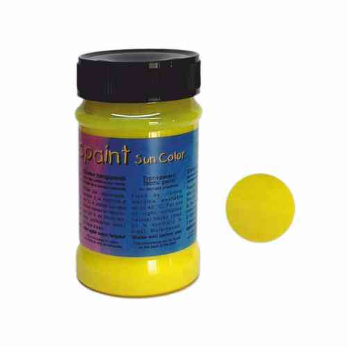 Batik Farbe Magic Paint/Sun Color - Gelb - 100 ml