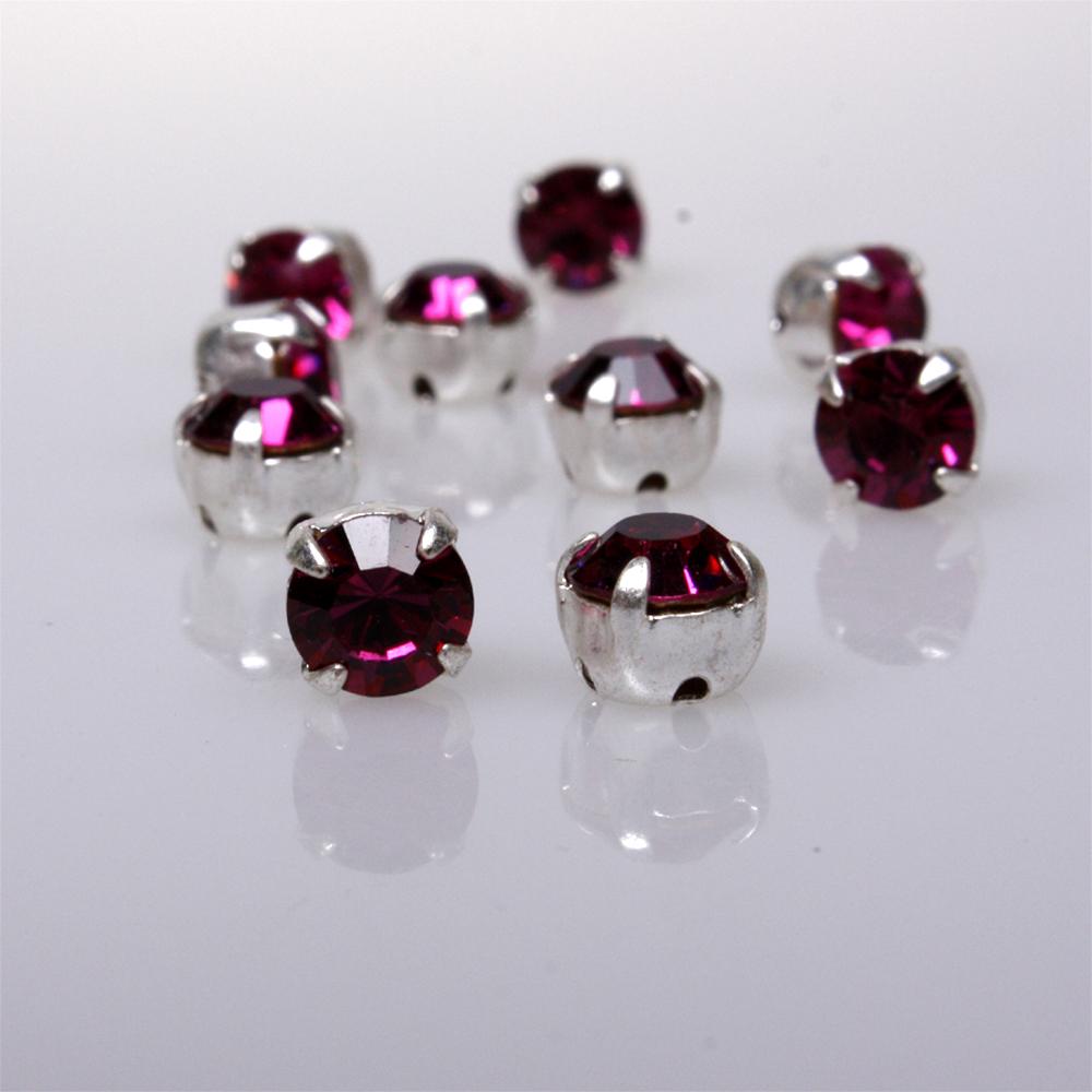 swarovski kristalle zum aufn hen 4 mm fuchsia ina. Black Bedroom Furniture Sets. Home Design Ideas