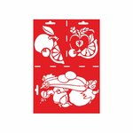 easy Stencil DIN A4 - Obst, Obst 1 und Obst 2