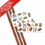 Aquatransfers-Set - Weihnachtsmotive - 3 teilig  / 27 Transfers