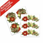 Aquatransfers-Set - Weihnachtsmotive - 2 teilig  / 7 Transfers