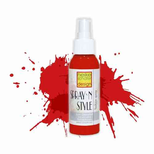 Spray`n Style/Fashion Fashion Spray für Textilien - Rot - 100 ml