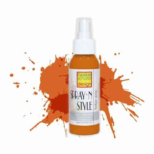 Spray`n Style/Fashion Fashion Spray für Textilien - Orange - 100 ml