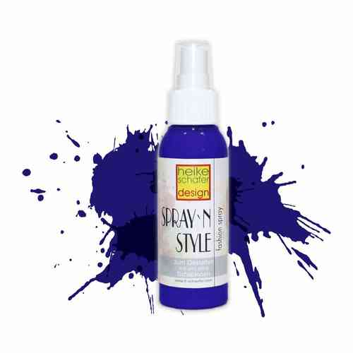 Spray`n Style/Fashion Fashion Spray für Textilien - Blau - 100 ml