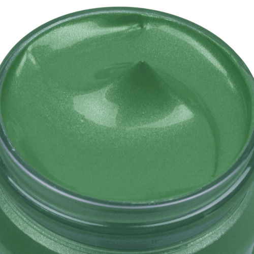 fashion Color Textilfarbe Metallic - Grasgrün - 25 ml