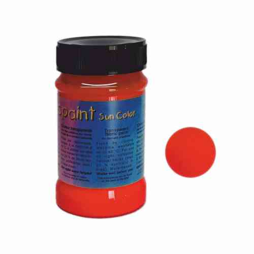 Batik Farbe Magic Paint/Sun Color - Rot - 100 ml