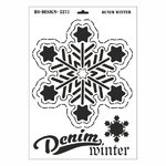 Schablone DIN A3 - Denim Winter