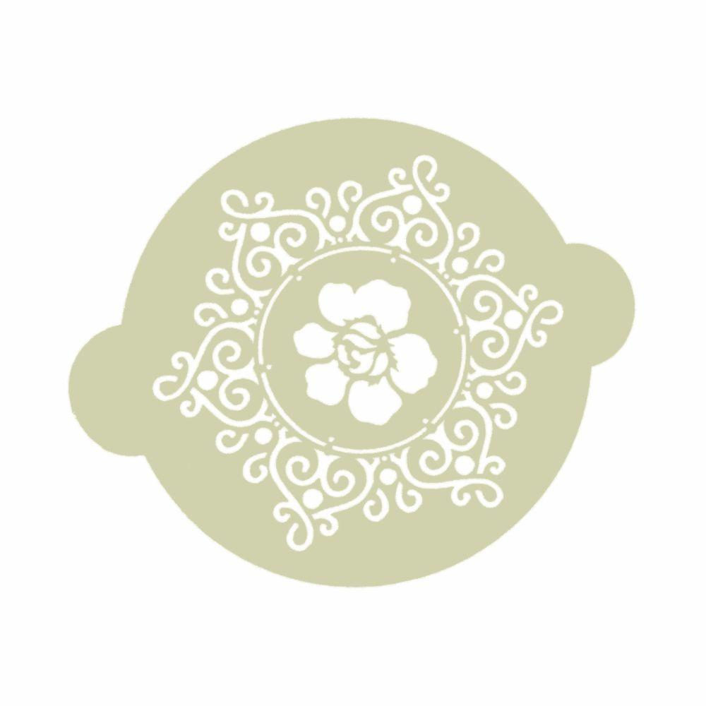 torten-schablone ornament - Ø 195 mm - ina schäfer online-shop