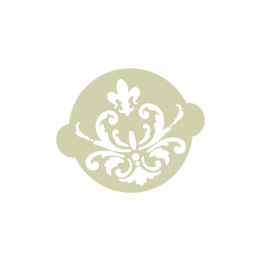 torten-schablone ornament - Ø 90 mm - ina schäfer online-shop