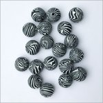 Schmuck-Design Set - Polymer Clay Perlen (Tonperlen)  - Ø 12 mm